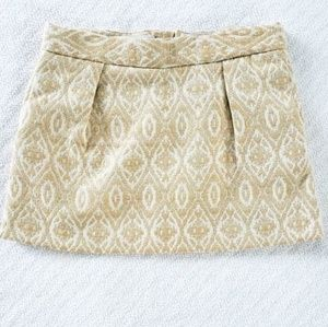 Genuine Kids Gold Paisley Skirt 3T